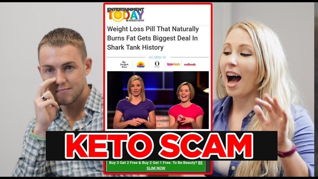 Shark Tank Keto Diet Pills are FAKE